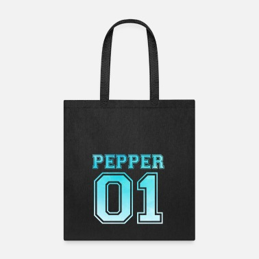 Couples Pepper Couple Partner Shirt Love Gift Christmas - Tote Bag