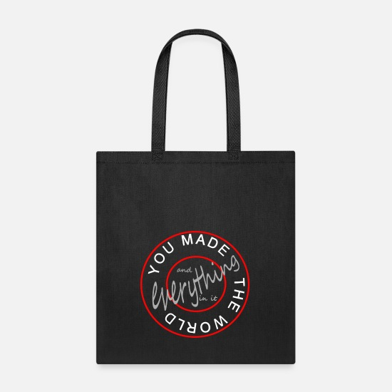 World Bags & Backpacks - everything - Tote Bag black
