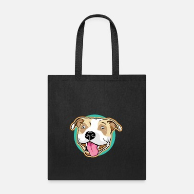 Cats Cute Pitbull Pet Dog - Tote Bag