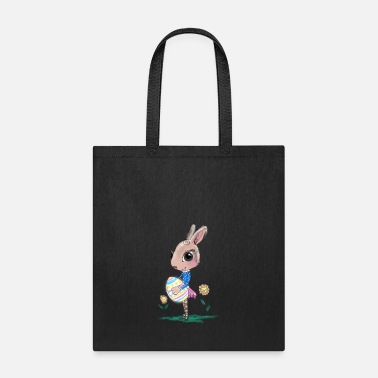 Easter Bunny Sketched Easter Bunny, Cute Bunny Easter Bunny - Tote Bag