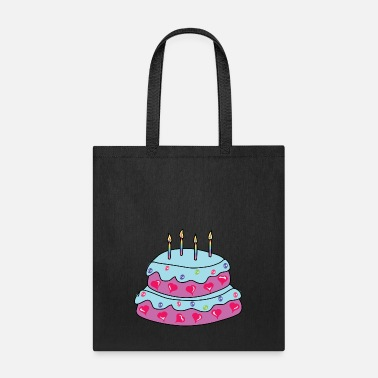 Cake Baby Birthday Cake - Tote Bag