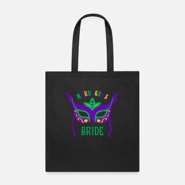 Cajun Mask Mardi Gras Bride - Tote Bag