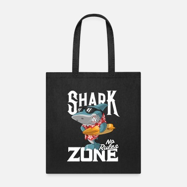 Mode Shark Zone No Rules - Tote Bag
