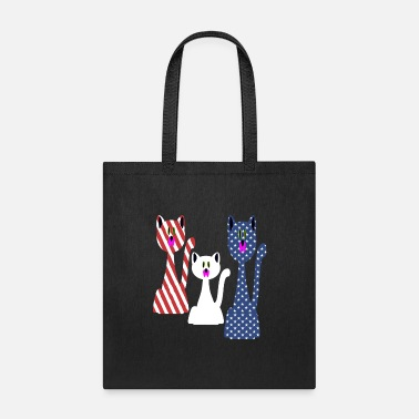 Th Of July Cat Lovers 4 th of july - Tote Bag