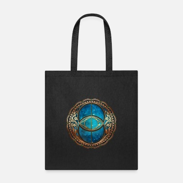 Vesica Piscis, Chalice Well, Avalon, Magic Symbol - Tote Bag