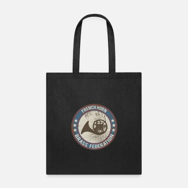 Horns horn horn instrument - Tote Bag