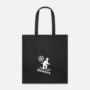 Sporty Sporty Ski - Tote Bag