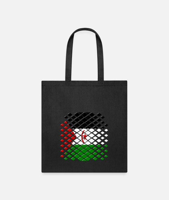 Western Sahara Bags & Backpacks - Western Sahara - Tote Bag black