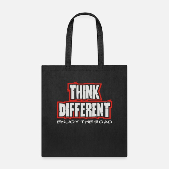 Think Bags & Backpacks - Think Different - Tote Bag black