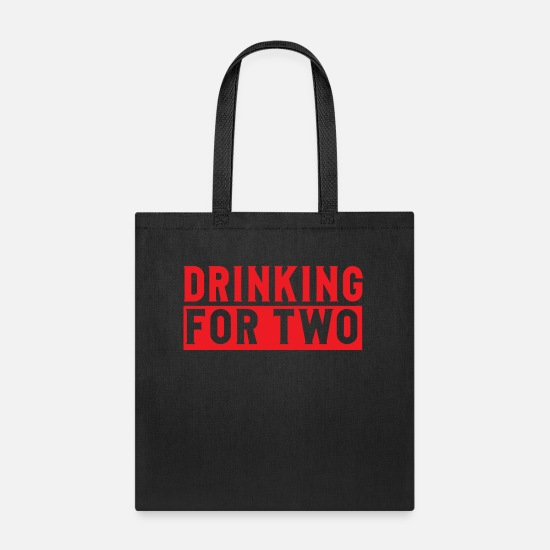Mummy Bags & Backpacks - DRINKING - Tote Bag black