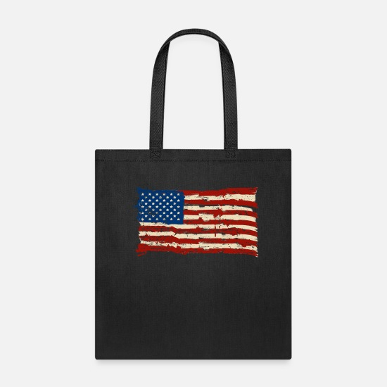 United States Bags & Backpacks - united states of america - Tote Bag black