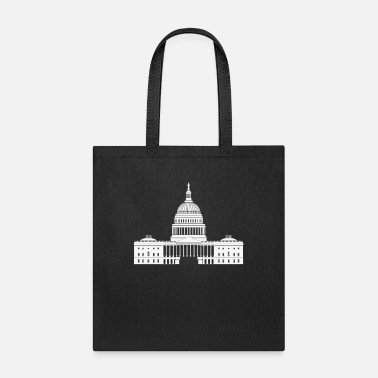 White House us capitol white house - Tote Bag