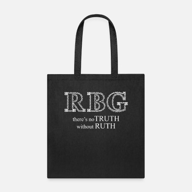 Truth Ruth Bader Ginsburg RBG Truth in Ruth White lace - Tote Bag