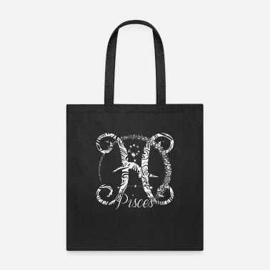 Astrology Pisces Horoscope Birthday Zodiac Constellation - Tote Bag