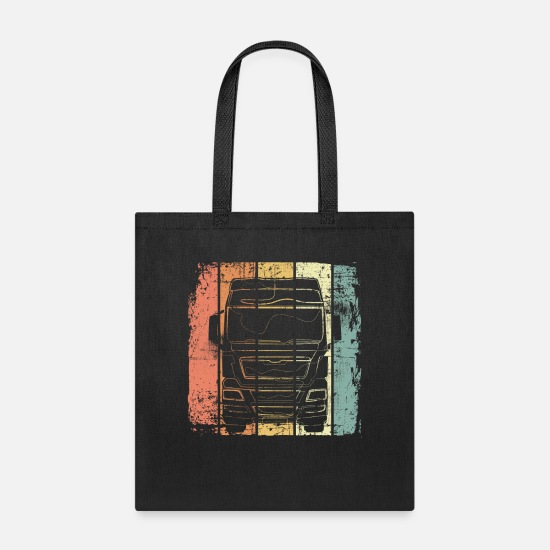 Truck Driver Bags & Backpacks - Truck - Tote Bag black