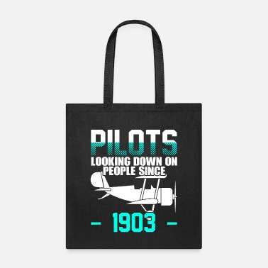 Aviation Airplane Aircraft Aviator Commercial Privat Pilot - Tote Bag