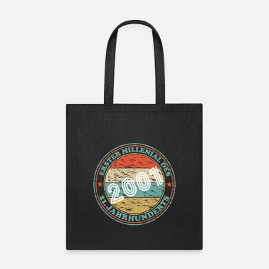 German 18 years born in 2001 1st year birthday - Tote Bag
