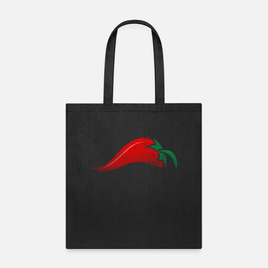 Gift Idea Bags & Backpacks - Chili - Tote Bag black