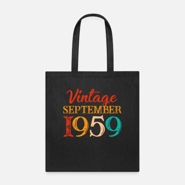 Vintage September 1959 Costume Cool 60th Birthday - Tote Bag