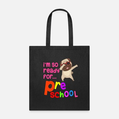 Kids Back To School Kids Back to School Shirts Preschool Dabbing Pug - Tote Bag
