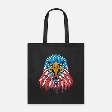 Bald Eagle Adler USA America Seal United States of America - Tote Bag