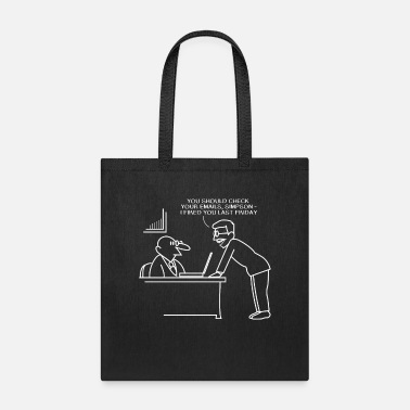 Documentation Mens Fired Through Email Old People and Technology - Tote Bag