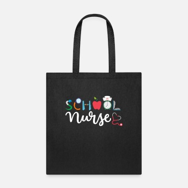 Elementary Funny Elementary And Middle School Nurse - Tote Bag