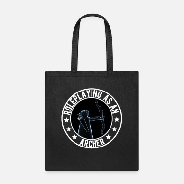 Rpg Roleplaying As An Archer - Tote Bag