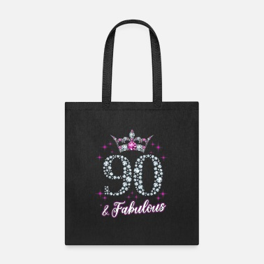 90 Womens 90 And Fabulous 1929 90Th Birthday Gift Tee - Tote Bag