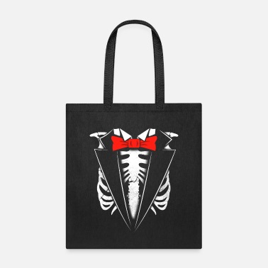 Halloween Skeleton Chest Fairing Costume - Tote Bag