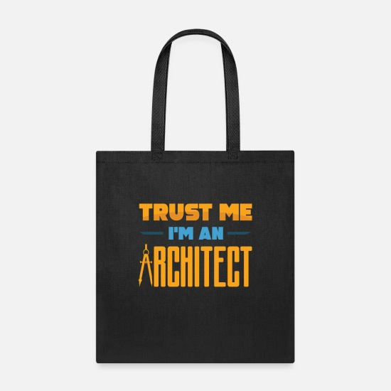 Architecture Bags & Backpacks - architect - Tote Bag black