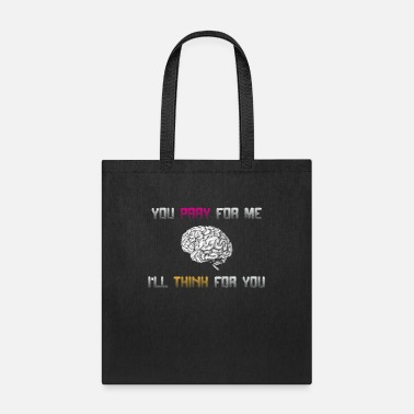 Anti Valentine Atheists: You pray for me - I will think for you - Tote Bag