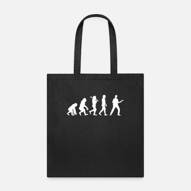 Evolution Evolution guitar bassist - Tote Bag