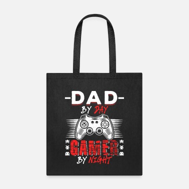 Funny Game Dad By Day Gamer By Night - Tote Bag