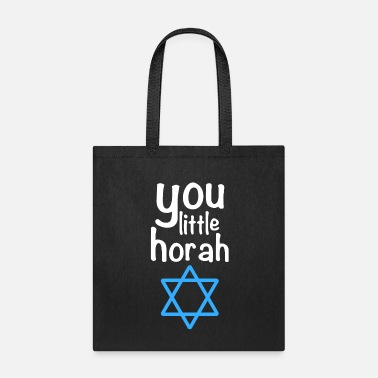 Shalom Little Horah Jewish Quote Thanksgiving Hanukkah - Tote Bag