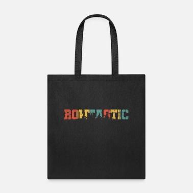 Boat Retro Rowing Crew Boat Gift I Rower Row Team - Tote Bag