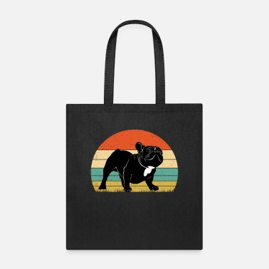 Vintage Retro French Bulldog Adorable Dog - Tote Bag