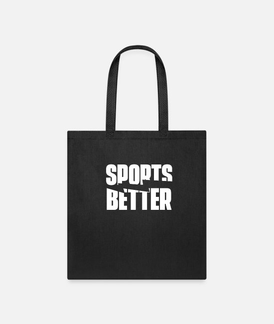 Sports Bags & Backpacks - Sports Betting Bet Bets Betting Office Gamble Team - Tote Bag black