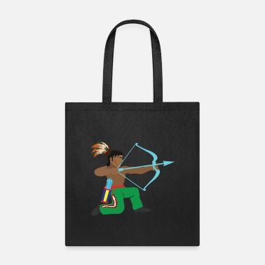 Wilderness Native American Native American Appache Indian cos - Tote Bag