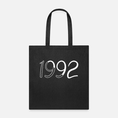 Date Of Birth Year of birth 1992 Date of birth - Tote Bag