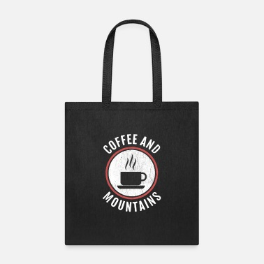 Ice Coffee And Mountains - Tote Bag