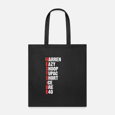 Rap 90's Hip Hop Warren Eazy Snoop Short Ice Dre - Tote Bag