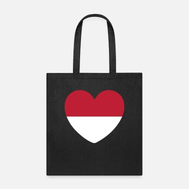 Country Life STYLISH INDONESIA FLAG DESIGN - Tote Bag
