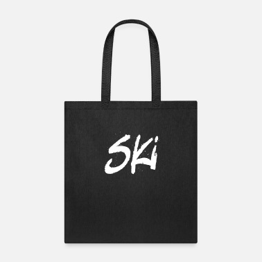 Ski Lift Ski Skiing Vacation Skier Winter Sports - Tote Bag