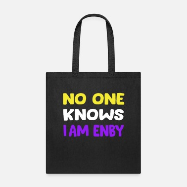 Funny Nonbinary and Transgender - Tote Bag