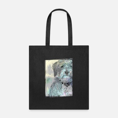Cute Terrier Vintage Style - Tote Bag