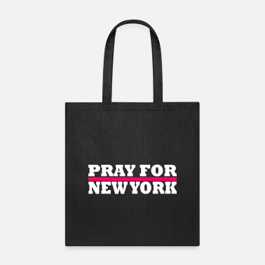 Nyc New York / Pray For New York - Tote Bag