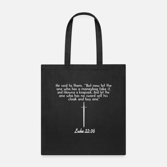 Final Thesis Bags & Backpacks - Final Back png - Tote Bag black