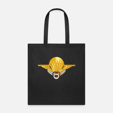 Airforce France Airborne Paratrooper Moniteur Brevet wo Txt - Tote Bag