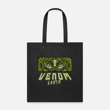 VENOM EARTH FULL OF CHARACTER GREENLY SHIRT - Tote Bag